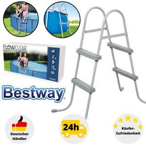 Bestway Sicherheitsleiter 84cm Poolleiter Pooltreppe Schwimmbadleiter 58430