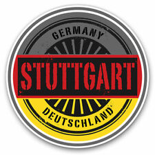 2 x Vinyl Stickers 25cm - Stuttgart Germany Deutschland Cool Gift #6017
