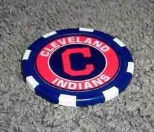 MLB CLEVELAND INDIANS SOUVENIR COLLECTIBLE POKER CHIP GOLF BALL MARKER