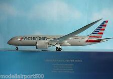 Hogan Wings 1:200 Boeing 787-8  American Airlines LI4975GR + Herpa Wings Katalog