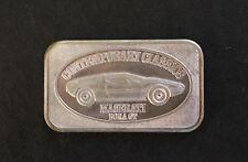 1983 Maserati Bora GT Continental Coin Corp CCC-14 Silver Art Bar P0777