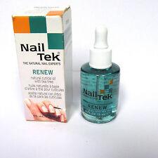 Nail Tek Renew Natural Cuticle Oil With Tea Tree .5 Oz