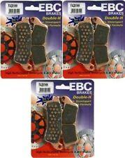EBC HH Front + Rear Sintered Brake Pads (3 Sets) 2002-2008 Honda VTX1800 FA261HH