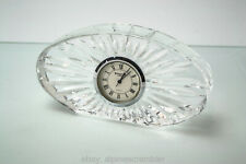 Waterford Crystal shelf desk mantel clock