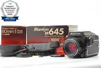 【MINT+2 in BOX】 Mamiya M645 1000s WLF + Sekor C 80mm f/2.8 From Japan 1271