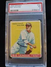 1933 Goudey #55 PAT MALONE Chicago Cubs PSA 3 VG ** Check out my other listings!