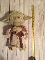 Disney Store Star Wars Stuffed Yoda Plush RARE