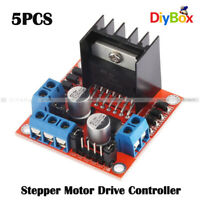 5PC Stepper Motor Drive Controller Board Module L298N Dual H Bridge DC F Arduino