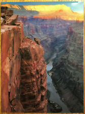 Postcard  - GRAND CANYON  SUNSET -  Colorado River -  unposted