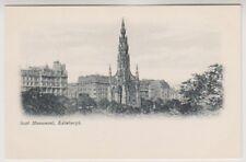 Midlothian postcard - Scott Monument, Edinburgh
