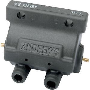 Andrews Ignition Coil for Harley Davidson Black 237230