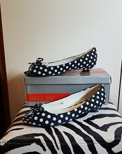 Scarpe donna rockabilly pin up nere a pois. N° 36/37