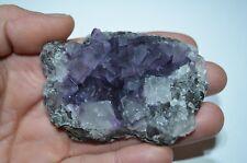 Fluorite violette de Chine 122gr WenShan Yunnan  Flourite China stone mineral