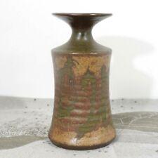 "SDW Studio Pottery Stoneware Designs West Vase California 6"" Tall Vintage"