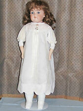 Antique German Cuno & Otto Dressel Doll - Porcelain Shoulder Head / New Body