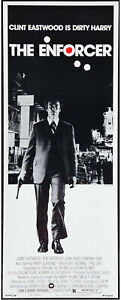 THE ENFORCER original ROLLED 1977 14x36 movie poster DIRTY HARRY/CLINT EASTWOOD