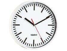 Große klassische Quarz-Bahnhofsuhr Quarzuhr Bahnhofs-Uhr Bahnhof U-Bahn Wanduhr