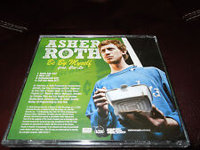 ASHER ROTH - BE BY MYSELF (FEAT CEE-LO) - PROMO CD SINGLE - EXCE.