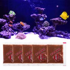 5 Bags Aquarium Tropical Fish Healthy Food Shelling Brine Shrimp Eggs Fish Tank