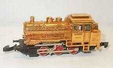 Märklin mini-club 8800 Dampflok BR 89 gold - Sondermodell für Händler 1972