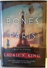 THE BONES OF PARIS by Laurie R. King ~  SIGNED 1st/1st ~ BRAND NEW