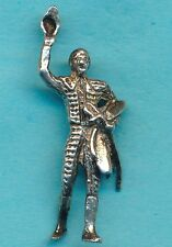 Vintage Sterling Silver Detailed MATADOR with SWORD and CAPE Charm
