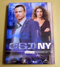 DVD Box CSI: NY Staffel Season 2 Two Zwei - Epsioden 13 - 24 DVDs 2.2 Neu OVP
