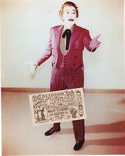 1966 TV Series Batman Villain THE JOKER CESAR ROMERO 8x10 glossy photo. Movie