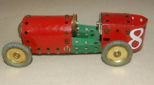 MECCANO  - 1930's RACE STYLE MODEL CAR