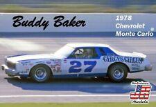 "Salvino JR NASCAR 1978 ""Ontario"" Buddy Baker's #27 Monte Carlo  model kit 1/25"