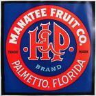 H & P Vintage Palmetto Florida Citrus Crate label, **AN ORIGINAL CITRUS LABEL**