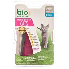 Bio Spot Active Care Flea & Tick Spot On for Cats Under 5 lbs 6 month BioSpot
