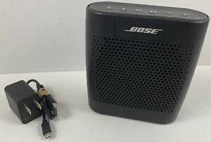 Bose SoundLink Color Bluetooth Speaker - Black - W/ Cable TESTED
