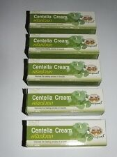 5 x 10g Tubes Centella Cream Heals Wounds Burns  Reduce Scaring Stretch Marks