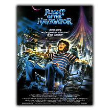 Flight of the Navigator METAL SIGN PLAQUE 80s Retro Advert Poster Print Man Cave