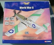 "AA34401 1/32 diecast P-51D Mustang ""Stinger VII"" - boxed - Corgi WWII Pacific"