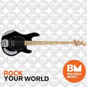 Sterling by Music Man StringRay RAY4 Bass Guitar Black - Belfield Music - BM