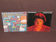 DAN HARTMAN 2 LP RECORD ALBUMS LOT COLLECTION Relight My Fire/Instant Replay