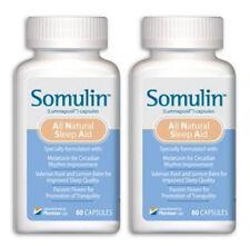 2 Btl Somulin Enhanced Your System Take All-Natural Safe and Effective Sleep Aid