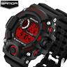 Sport Wrist watches For Men Top SANDA LED Digital Military Watch Waterproof