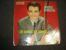 Jimmy Rodgers-The Number One Ballads 1959 USA Reissue Colored Spokes Label VG+/E