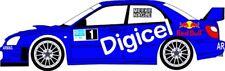 DECALS 1/43 SUBARU IMPREZA WRC - #1 - MEEKE - RALLYE BARBADOS 2009 - D43073