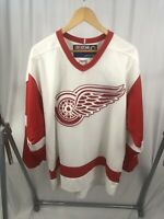 Vintage CCM Center Ice Sergei Fedorov Detroit Red Wings Authentic Jersey Large