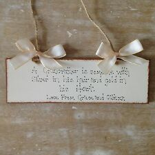 Personalised Father's Day Plaque Grandad  Wooden Birthday Gift  Present Sign