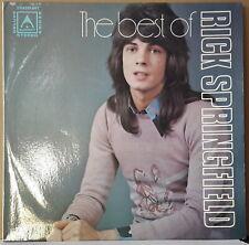RICK SPRINGFIELD - THE BEST OF 1975 SUMMIT SRA295.047 AUS ROCK VINYL LP