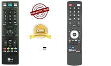 AKB33871420 Mando a distancia de sustitución tv LG M1962D-PZ , M1962D-PC