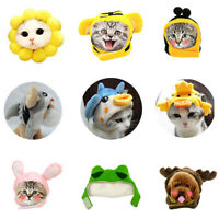1Pet Dog Cat Hat Headgear Costume Funny Animals Cap Halloween Party Decoration