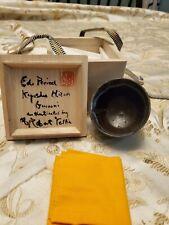 Kyushu Hazen Antique Japanese Guinomi Cup Authenticated by Robert Yellin