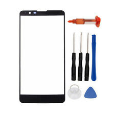 Black Front Outer Screen Lens Replace +Tool+Glue for LG Stylo 2 Plus K550 5.7""