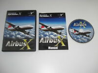 AIRBUS X Pc DVD Rom Add-On Microsoft Flight Simulator Sim X FSX FS